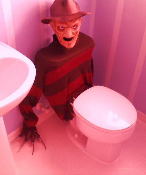 A Nightmare On The Loo