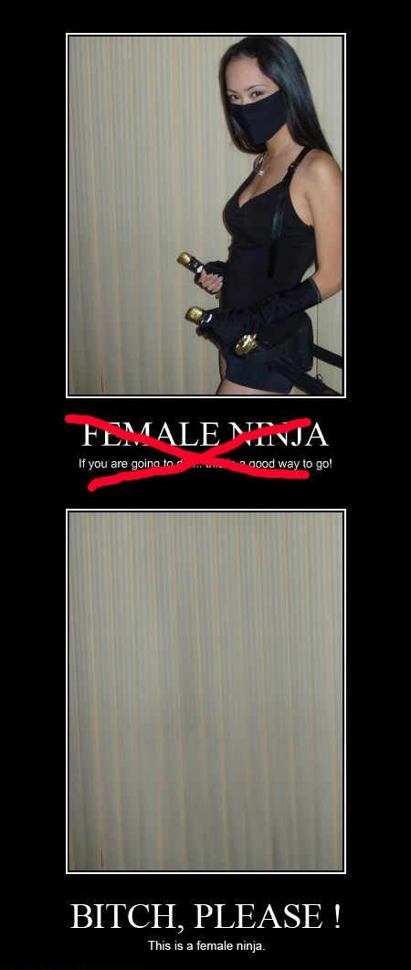 A Real Female Ninja