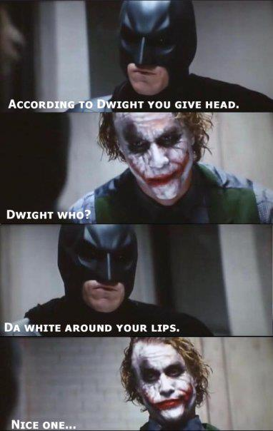 According to Dwight you give head