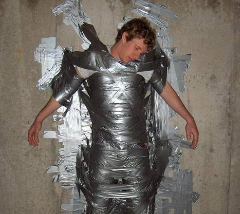 Always use duct tape
