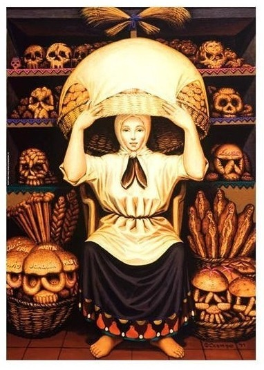 Art illusion A Lady which becomes a skull when zoomed out