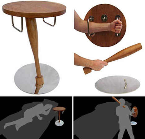 Bedroom Self Defense Table