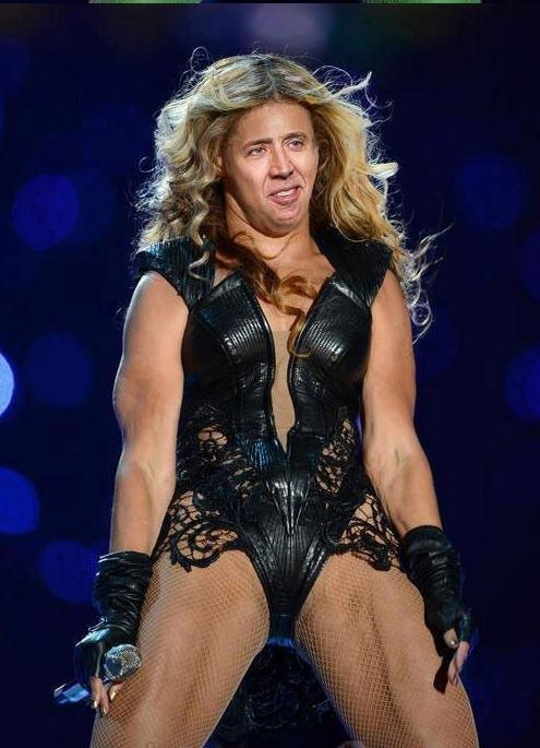 Beyonce Cage