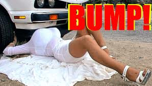 Bump which hold up cars