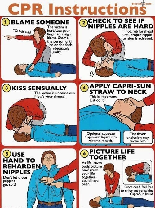 CPR Instructions...