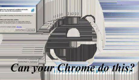 Can your Chrome do this