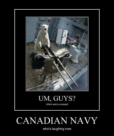 Canadian Navy Whos Laughing Now