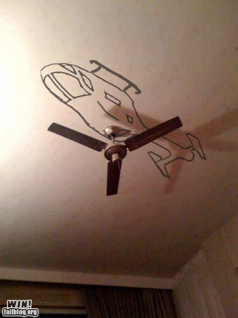 Ceiling Helicopter