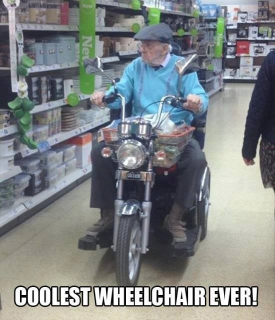 Coolest wheelchair ever