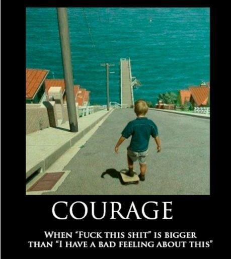 Courage I have a bad feeling about this