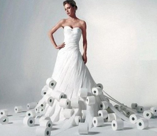 Crappy Wedding Dress