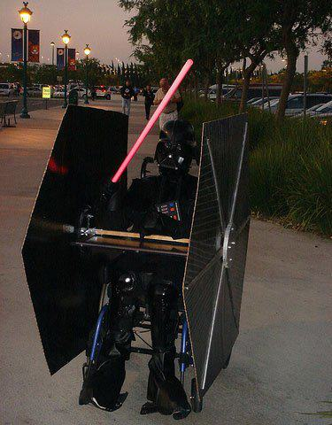 Darth Wheelchair