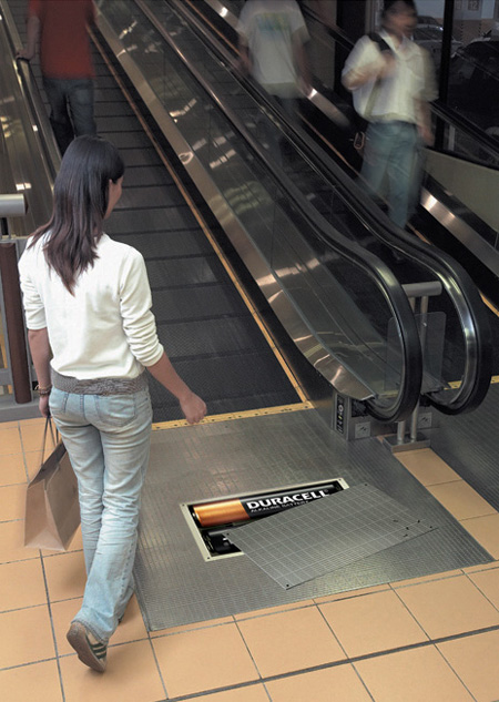Duracell with the copper coloured top