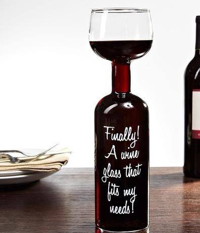 Finally a wine glass that fits my needs
