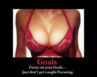 Focus on your goals...
