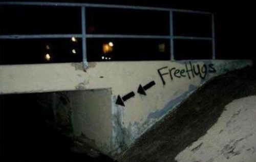 Free Hugs Seems Legit