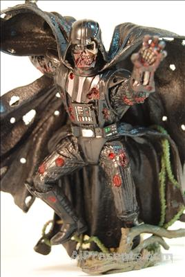 Full size Darth Vader as a Zombie