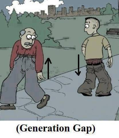 Generation gap maybe