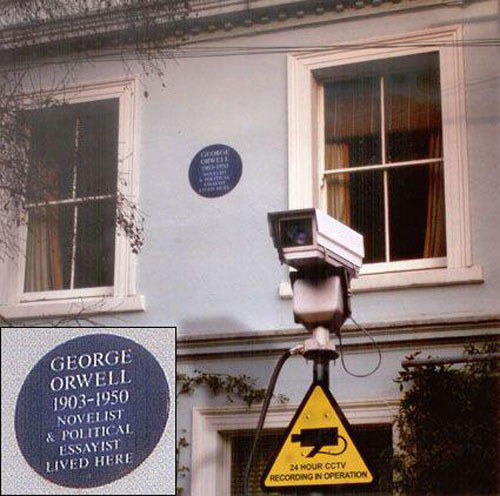 George Orwell lived here see if you get it