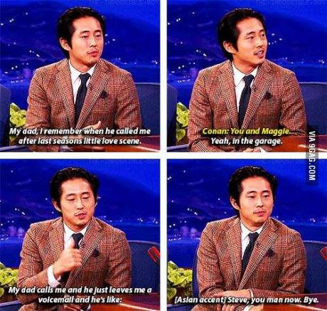 Glenn you man now