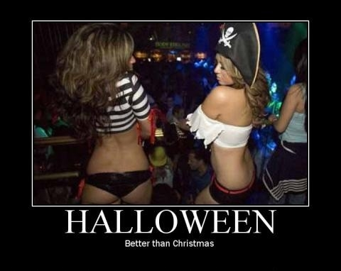Halloween Better than Christmas