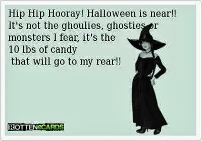 Hip Hip Hooray Halloween is near
