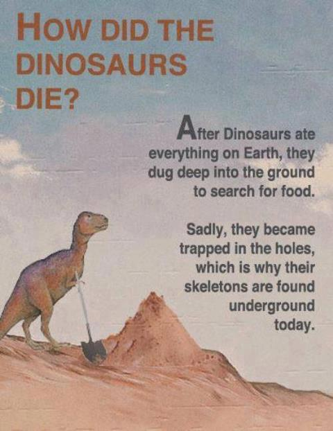 How did the Dinosaurs die - Seems Legit