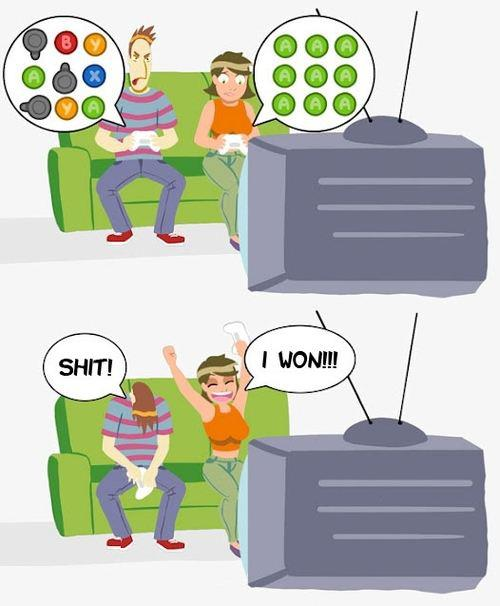 how to convince your girlfriend to play video games