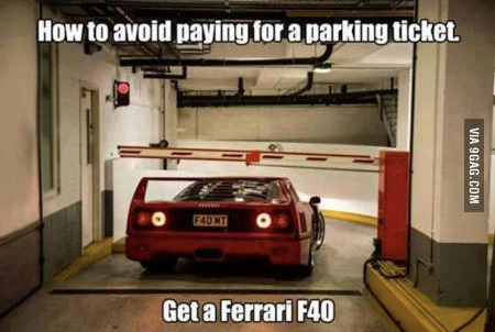 How to avoid paying for a parking ticket