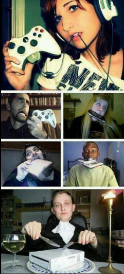 How to eat a console