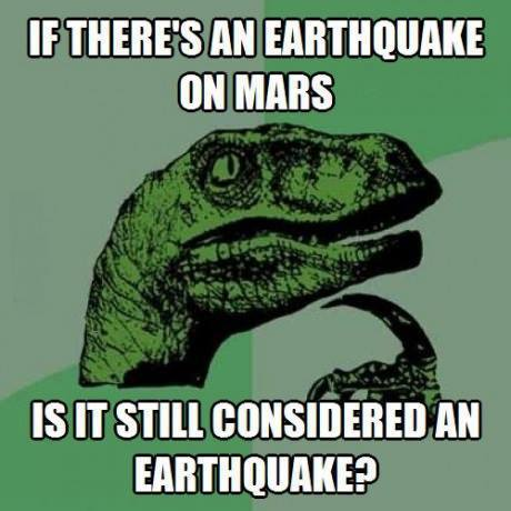 If there's an Earthquake on Mars....