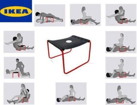 Ikea for great ideas