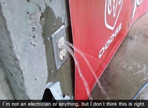 Im Not An Electrician Or Anything...