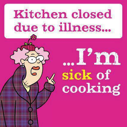Kitchen closed due to illness