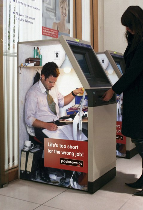 Lifes too short for the wrong job - Cash Machine