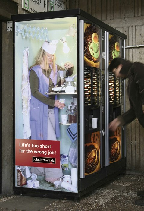 Lifes too short for the wrong job - Drinks Machine