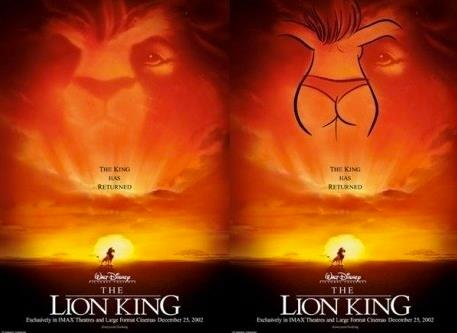 Lion King Poster Explined