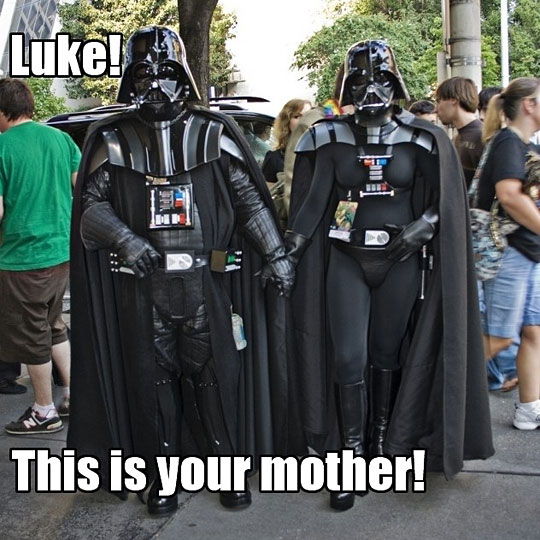 Luke this is your mother