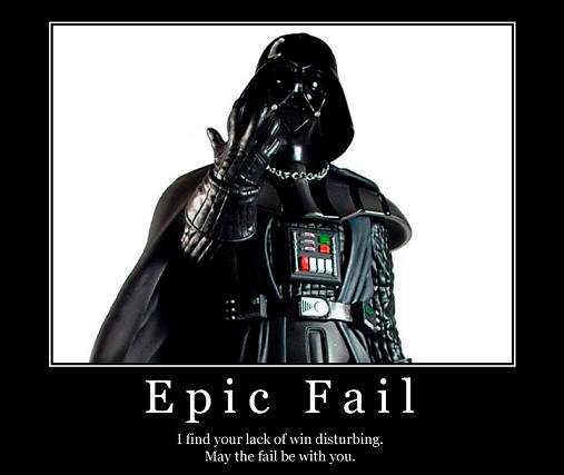 May the fail be with you
