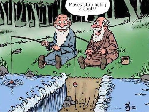 Moses stop being a cunt