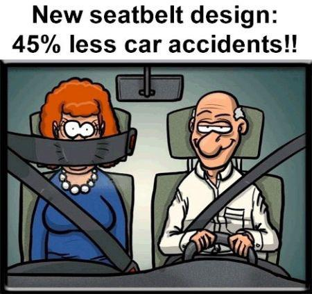New Seat-belt Design