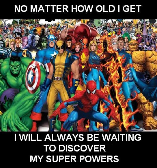 No matter how old I get