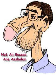 Not all bosses are assholes