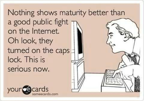 Nothing shows maturity better than a good...