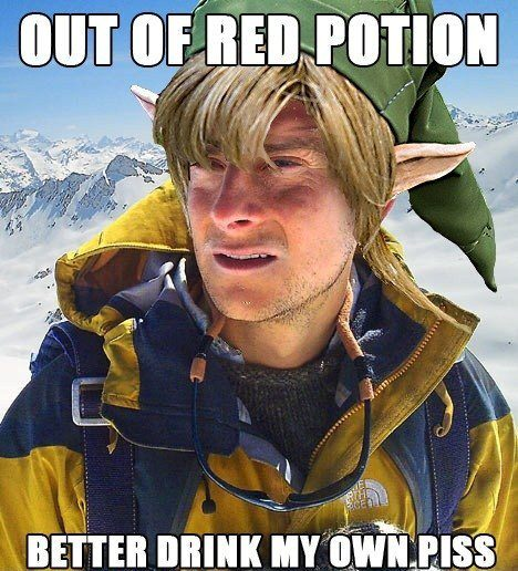 Out of red potion....