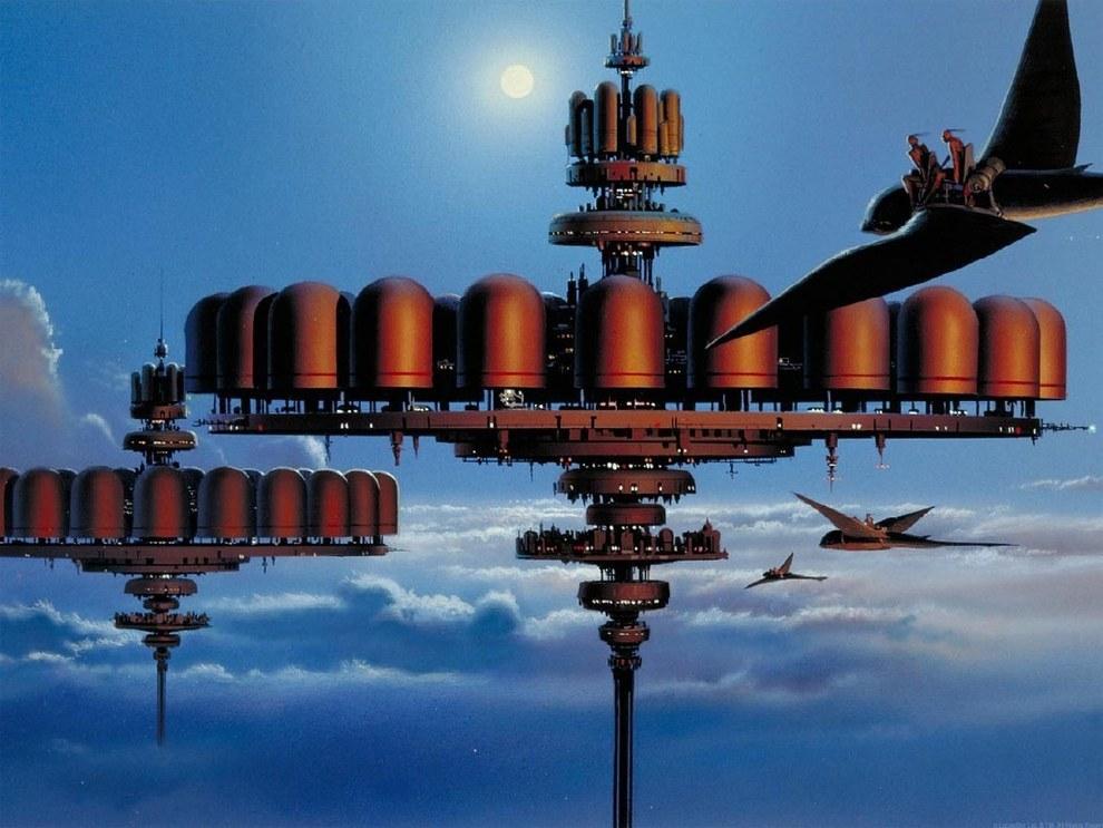 Ralph Mcquarrie Cloud City Imghumour