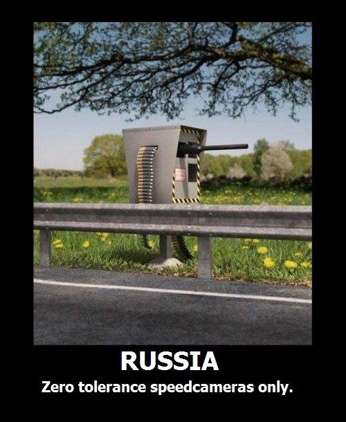 Russion Speed Cameras