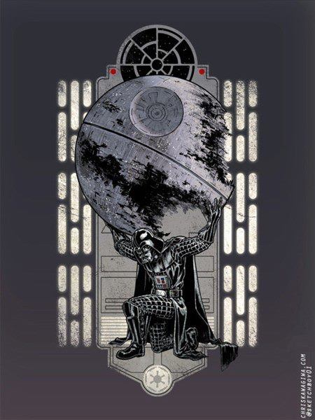 Star Wars Atlas Art