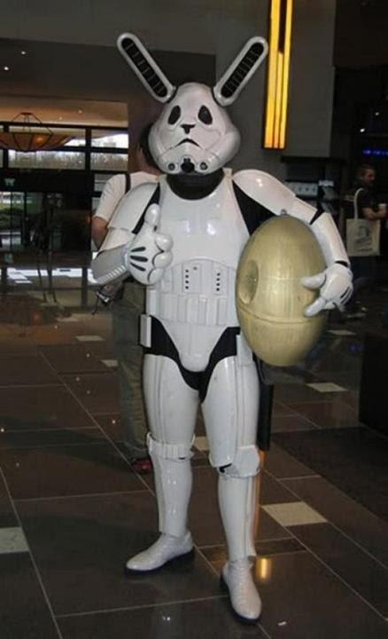 Star Wars Easter Bunny