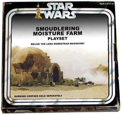 Star Wars - What if - Smouldering Moisture Farm Playset